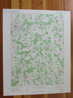Mercer Pennsylvania 1964 Original Vintage USGS Topo Map