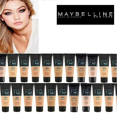 Maybelline Fit Me Matte & Poreless Foundation -18 shades available-