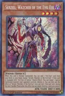 Yugioh Serziel, Watcher of The Evil Eye INCH-EN027 1st Edition NM
