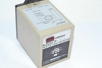 Omron K2CU-P1A-B DETECT HEATER ELEMENT 110/220V, Heat Fault Detector