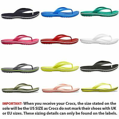 Crocs Crocband Flip Flops Thongs Sandals in Wide Range of Colours 11033