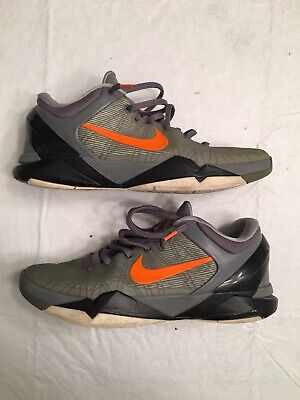 best loved ebb8a d91d0 Nike Zoom Kobe 7 VII  Wolf Grey  System 488371-002 Size 11 Used