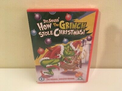 How The Grinch Stole Christmas - Dr Seuss - Animated Dvd Brand New Sealed