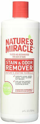 Nature's Miracle Stain and Odor Remover w/Enzymatic Formula to Break Down Uri...