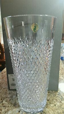 """Waterford Crystal  Alana  """"12"""" Vase  Brand New In The Box"""