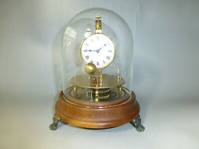 Vintage German Briggs Rotary Flying Ball Pendulum Clock Rare ( Watch The Video )