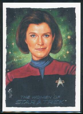 2010 Women of Star Trek ArtiFex Trading Card #2 Captain Janeway