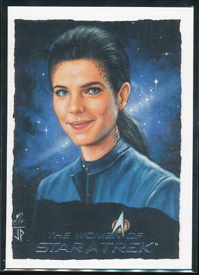 2010 Women of Star Trek ArtiFex Trading Card #3 Jadzia Dax