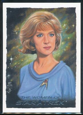2010 Women of Star Trek ArtiFex Trading Card #7 Nurse Chapel