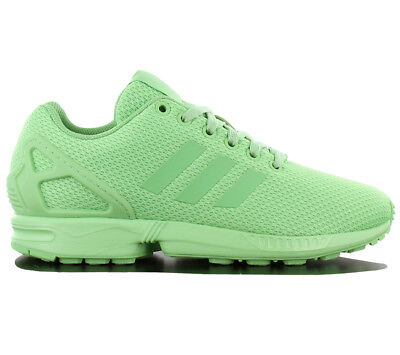 sports shoes 214bb 4628f Adidas Originals Zx Flux W Scarpe Sneaker Verde Tessile da Ginnastica S80313