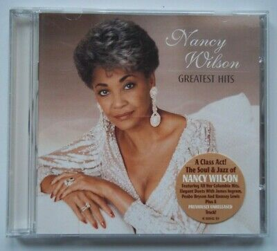 CD NANCY WILSON GREATEST HITS All Columbia Hits, Duets, I Can't Make    16  Songs