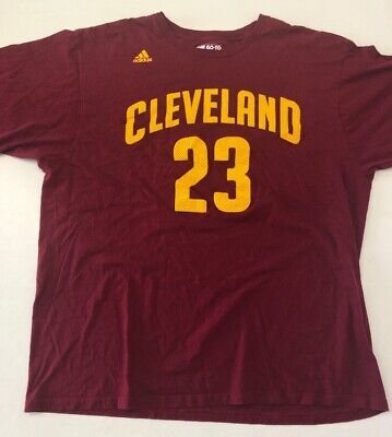 Basketball 100% Authentisch Lebron James Vintage Nike Cavs NBA Hwc Swingman Trikot Größe XL