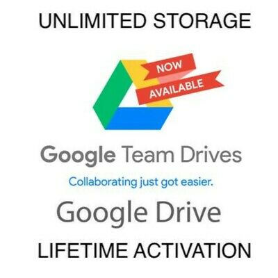 ⚡Google Drive Unlimited Lifetime To Your Account