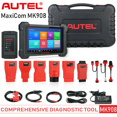 Autel MaxiCOM MK908 Car Diagnostic Tool OBD2 Code Reader Scanner ECU Coding US