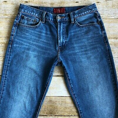 Lucky Brand 181 Men/'s Relaxed Fit Straight Leg Jeans NWOT 31X30 Brand New