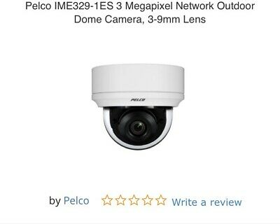 Pelco IME329-1RS 30 Megapixel 30IPS PoE Network Outdoor IR Dome Camera