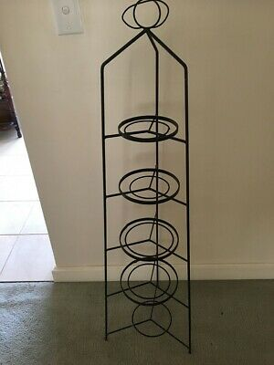 Antique Metal Pot Stand  ~ Good Condition Pick Up Frankston Sth #!((