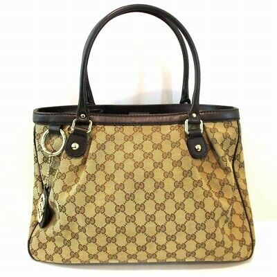 bf3473ef536b0f GUCCI GGpattern Sukey 296835 Tote Bag Ladies Free Shipping [Used]