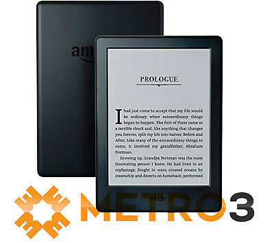 Amazon Kindle Touch 8th Gen Wi-Fi 6 inch Black eReader | NEW