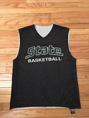 buy popular 31262 d2c03 MICHIGAN STATE SPARTANS NCAA Authentic Nike Men's Basketball Practice Jersey