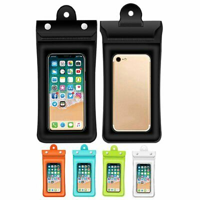Three-layer Sealed Waterproof Mobile Phone Pouch Floating Bag Case Underwater AU