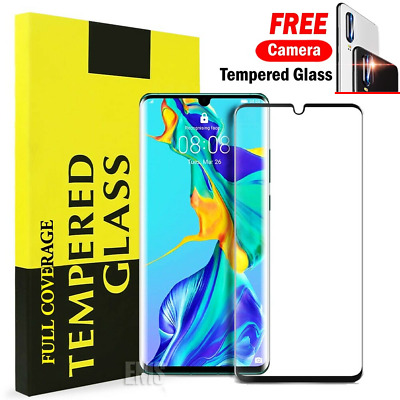 Huawei P30 P30 Pro Mate 20 Pro 5D Full Coverage Tempered Glass Screen Protector