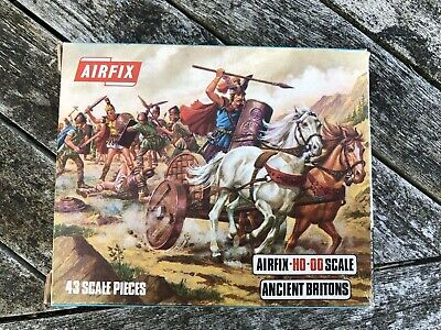 Airfix Ancient Britons S34-59 Boxed Complete NOS On sprues.