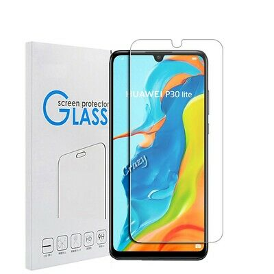 [2 Pack] Tempered Glass LCD Screen Protector Film Guard For Huawei P30 | P30 pro