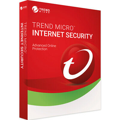 Trend Micro Internet Security 2019 1 - 3 - 5 Pc 1 - 2 Years Download