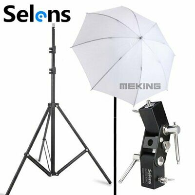 Photography 33'' 83cm Studio Soft Umbrella Diffuser Flash Speedlite Light Stand