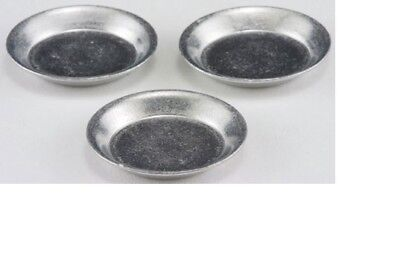 2pc #IM65593 Dollhouse Miniatures 1:12 Scale Aluminum Muffin Pans