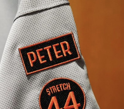 Stretch 44 Patch Willie McCovey Memorial San Fransisco Giants baseball jersey