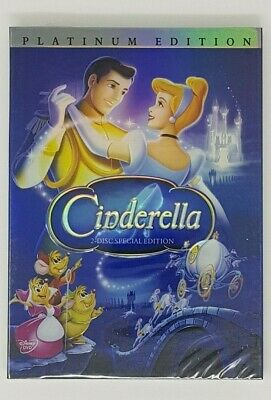 Cinderella DVD (2005) Disney Movie Sealed Platinum Edition New
