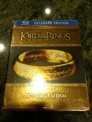 *BRAND NEW* The Lord of the Rings The Motion Picture Trilogy 15 Disc Blu-ray set