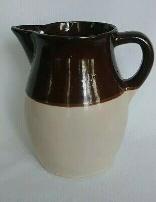 """ROSEVILLE ORRP CO OHIO Robinson Ransbottom Pottery Pitcher 6"""" Tall Made in USA"""