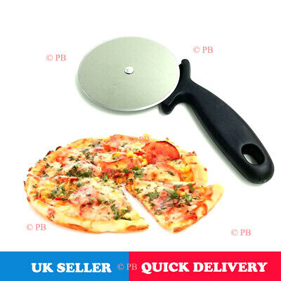 10 cm Large Heavy Duty Pizza Cutter Professional Wheel Slicer Stainless Steel