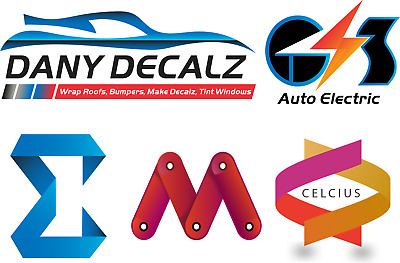 Professional Logo for Business + Source File + Unlimited Revision