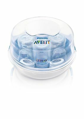 Philips AVENT Microwave Steam Sterilizer 4 Bottle, OPENBOX