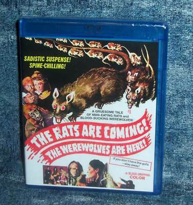 New Code Red The Rats Are Coming The Werewolves Are Here Le Movie Blu Ray 1972