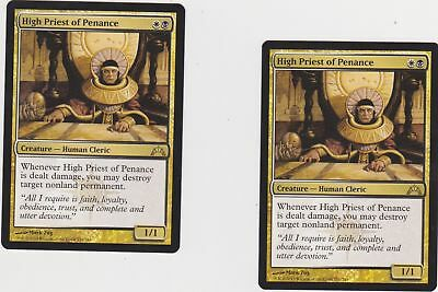 see scan X4  High Priest of Penance MTG Magic