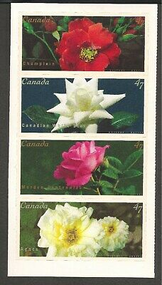Canada #1914a (A773) BKT. PANE VF MNH - 2001 47c Flowers