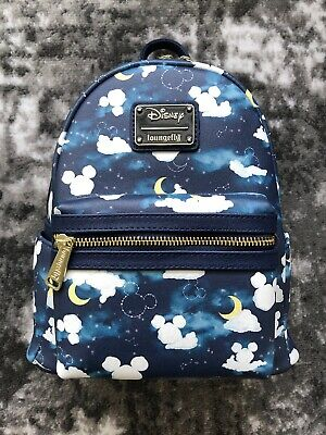 6c586692fc5 LOUNGEFLY DISNEY MICKEY Mouse Clouds Mini Backpack NWT