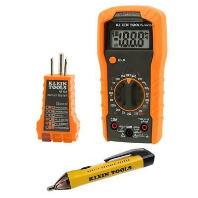 Electrician Kit Klein Tools Meter Non contact tester  Insulated Screwdriver