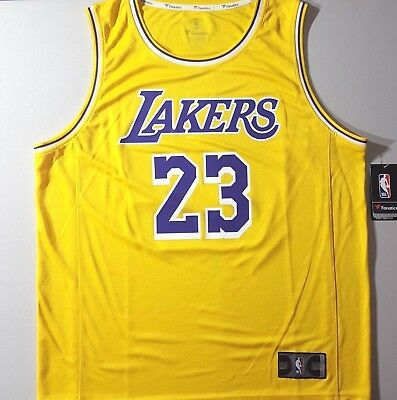 78827de182c NEW NIKE AUTHENTIC Lebron James Lakers Statement Edition Jersey NWT ...