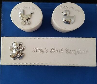 First Impressions  Baby Keepsake and Gift Set by A.D. Sutton and Sons