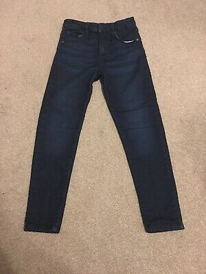 Boys Blue Skinny Jeans Age 11-12 Years