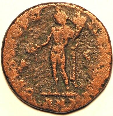 Ancient Roman Coin . AS ND