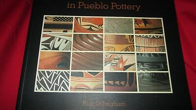 289 Page Reference Picture Photos Indian Pueblo Pottery of Fourteen Family Book