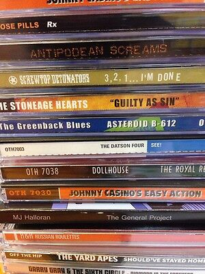 Off The Hip Cd Bundle 15CDs Free Postage Garage Powerpop