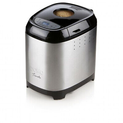 Domo B3962 bread maker Stainless steel 12 programs - 700-900 g - timer - LCD